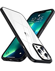 SPIDERCASE Designed for iPhone 13 Pro Max Case, Crystal Clear Not Yellowing Military Grade Drop Protection Slim Thin Clear Cover for iPhone 13 Pro Max 6.7 inch 2021