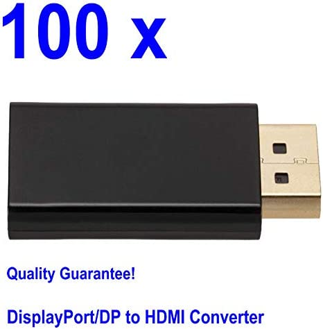 Wholesale 100pcs DisplayPort DP Male to HDMI Female Converters Adapters Plugs 1.3V//1080P