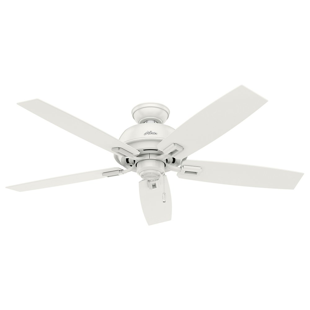 Hunter 53334 52 donegan ceiling fan with light fresh white hunter 53334 52 donegan ceiling fan with light fresh white amazon audiocablefo