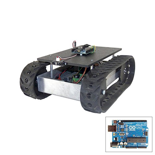SuperDroid Robots Programmable MLT-JR Tracked Development Robot by SuperDroid Robots