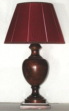 Paolo Rossi Grosse Lampe In Erle Holz Gedrechselt Mit Quadratischer