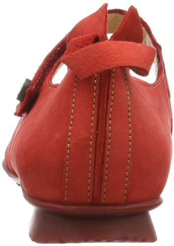 Ballerines Rot Rouge pour Kirsch Chilli Kombi Think femme 74 AZxB6Xq