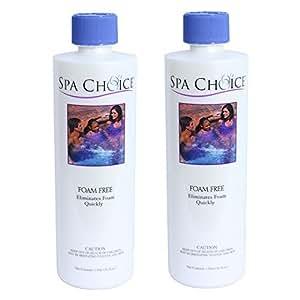 Spa Choice 472-3-2031-02 Foam Free Spa Chemical, 1-Pint, 2-Pack