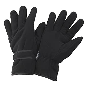 FLOSO Mens Winter Thermal Fleece Gloves (3M 40g) at Amazon