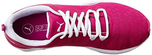 Puma Rush WNS, Zapatillas Deportivas Para Interior Para Mujer Rosa (Ultra Magenta-puma White 01)