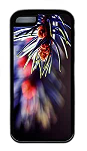 for iphone 6 4.7 Case Flower Closeup 3 TPU Custom for iphone 6 4.7 Case Cover Black