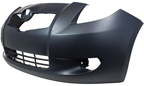 yaris front bumper cover - 5