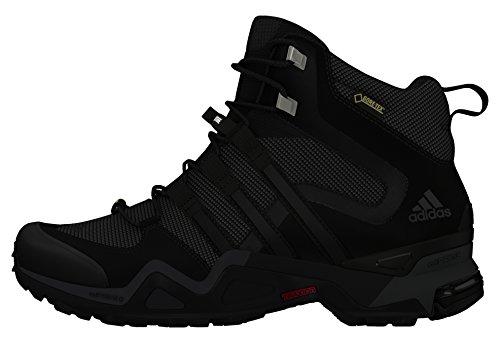 adidas Fast X High GTX W, Chaussures de Randonnée Femme Gris (Griosc/negbas/grivis)