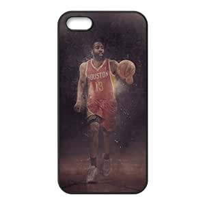 New Style Custom Picture HOUSTON ROCKETS Jams Harden NBAPhone Case for Iphone 5s