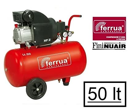 Compresor 50lt. de aceite Ferrua by FiniNuair-RC2/50