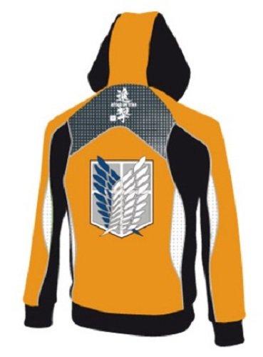 Attack on Titan chaqueta sudadera con capucha Cosplay Shingeki No prospección Kyojin Legion cremallera para-camiseta disfraz: Amazon.es: Ropa y accesorios