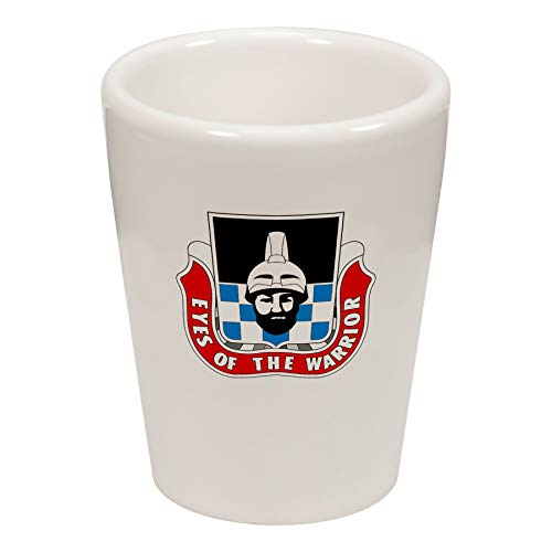 Express It Best Shot Glass -US Army 642nd Military Intelligence Battalion, DU