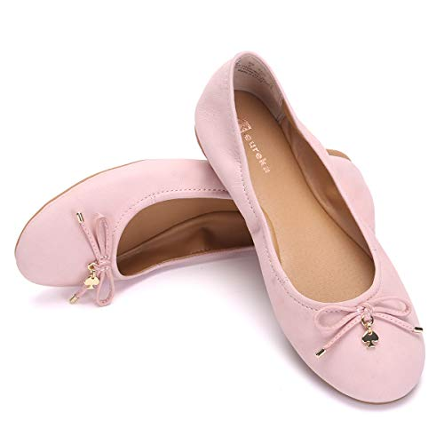 Eureka USA Women's Universe Leather Ballet Flat ()