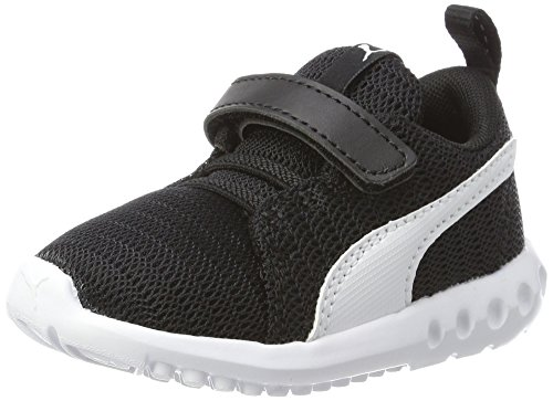 Puma Carson 2 V Inf, Zapatillas Unisex Niños Negro (Puma Black-puma White)
