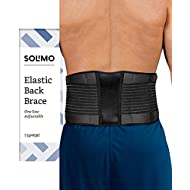 Amazon Brand - Solimo Back Brace, One Size