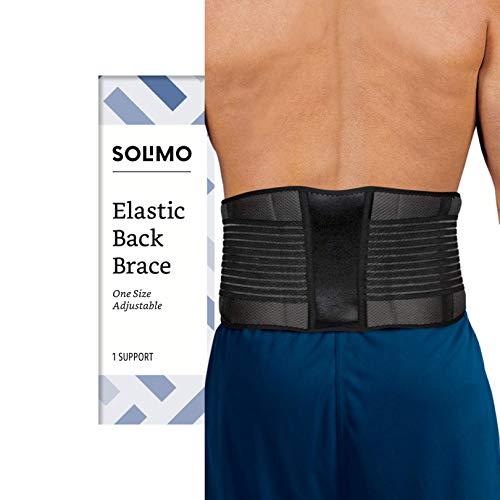 Amazon Brand - Solimo Back Brace, One Size
