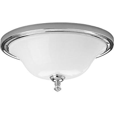 Progress Lighting P3326-15 2-Light Close-To-Ceiling Fixture, Polished Chrome