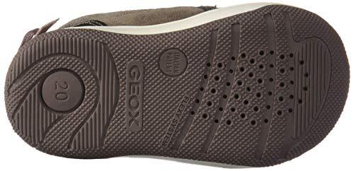 Niñas C9006 smoke Flick B Grey New Gris para B Bebé Zapatillas Geox 0F4Pqwz