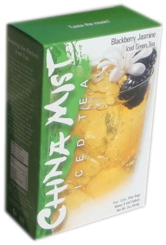 China Mist Iced Tea Blackberry Jasmine Iced Green Tea Bags (Mist Green Tea China)