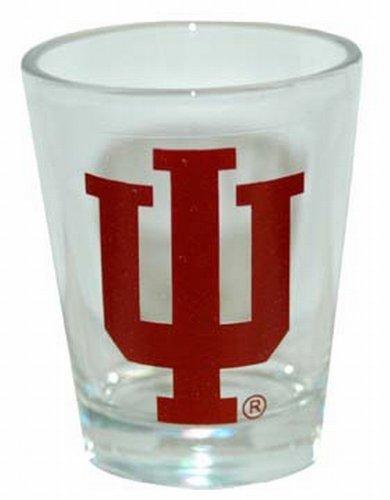 NCAA Indiana Hoosiers Logo Shotglass