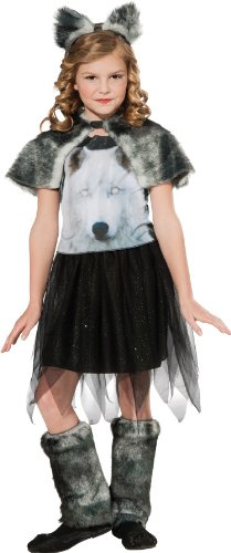 [Twilight Wolf Costume, Medium] (Wolf Halloween Costume Child)