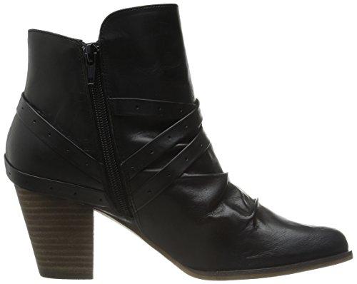 Leather Boot Black Kiki Women's Bella Vita aqHYXX