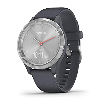 Garmin Vívomove 3S Sport - Reloj inteligente, color plata y ...