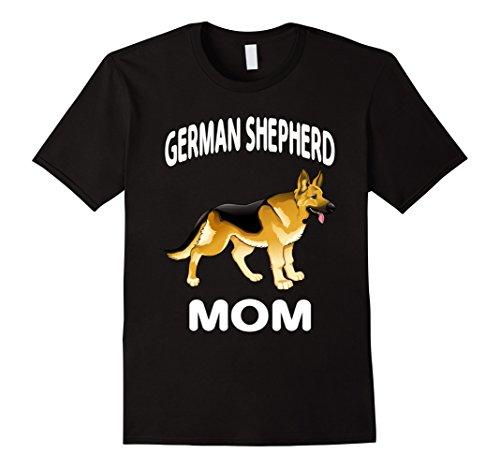 Mens German Shepherd Gift Shirt, German Shepherd Mom Funn...