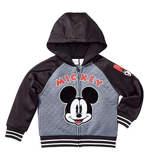 Disney Mickey Mouse Little Boys Toddler Zip Up Hoodie