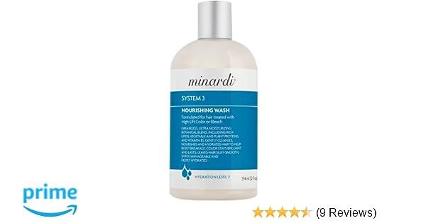 amazon com beth minardi system 3 nourishing hair wash 12 ounce