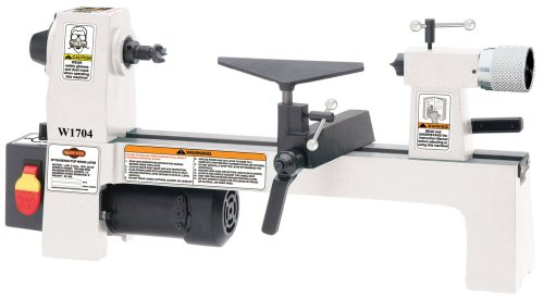 SHOP FOX W1704 1/3-Horsepower Benchtop Lathe by Shop Fox