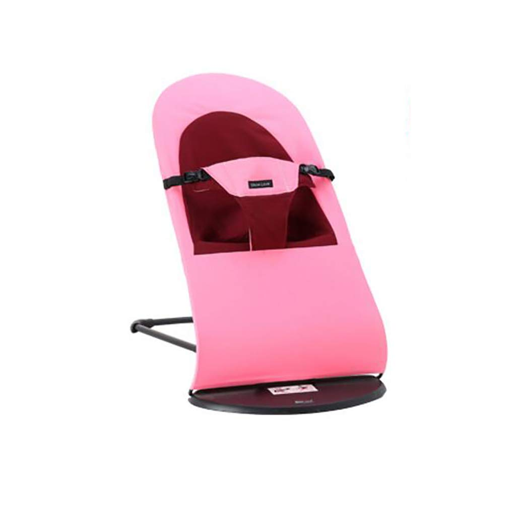 Bouncer Balance Soft, Baby Chair The Children's Bouncing Cradle (8 colors,Cotton) (Color : E)