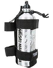 Moto Lowbrow Customs Gasolina Gas Botella con Soporte para Extra Combustible