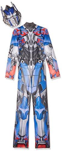 Disguise Hasbro Transformers Age of Extinction Movie Optimus Prime Classic Boys Costume, Medium/7-8 (Optimus Prime Movie)