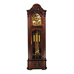 Longwood Corner Gandfather Clock by Acme Furniture