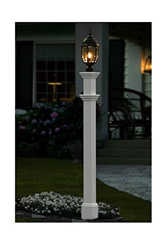 Outdoor Lamp Post With Sensor in US - 2