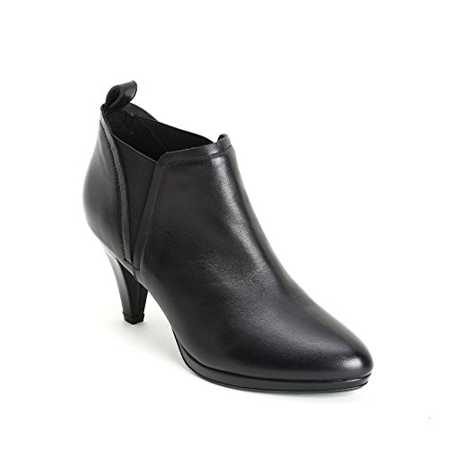 Botines Cm Elásticos De Altos Laterales Alesya 7 Piel amp;scarpe Scarpe Tacones By Negro Con qYwn7YU1tx