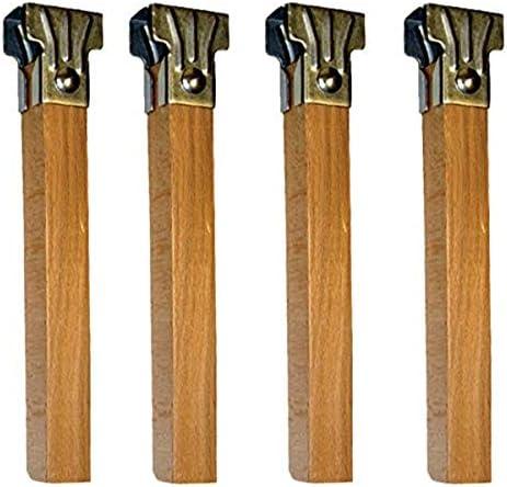 Imex El Zorro Juego 4 Patas somier de Madera 250x35x35 mm, Neutro, 250 x 35 x 35 mm