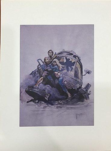 Frank Frazetta lithograph unsigned, 1979