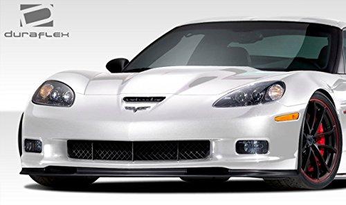 1 Piece Duraflex Replacement for 2005-2013 Chevrolet Corvette C6 ZO6 GS ZR1 GT500 Front Lip Under Spoiler Air Dam