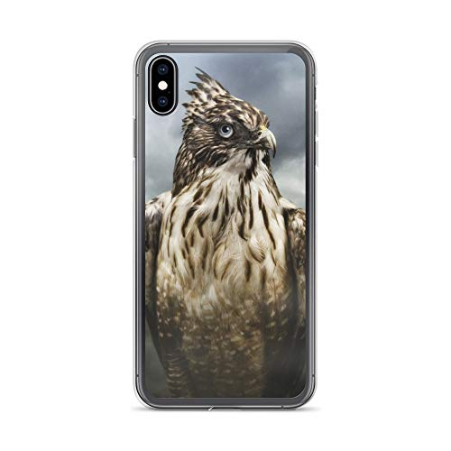 iPhone Xs Max Case Anti-Scratch Creature Animal Transparent Cases Cover We are Animals Hawk Animals Fauna Crystal Clear