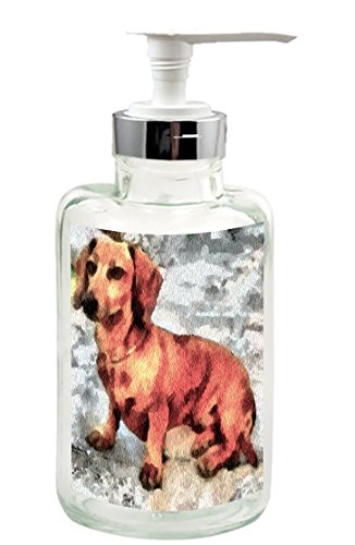 Dachshund - Doxie Simone Soap/Lotion Dispenser From (Dachshund Soap)