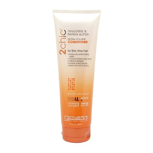 Giovanni 2chic Tangerine & Papaya Butter Ultra-Volume Conditioner 8.5 fl oz (250 ml) (Pack of 1) ()