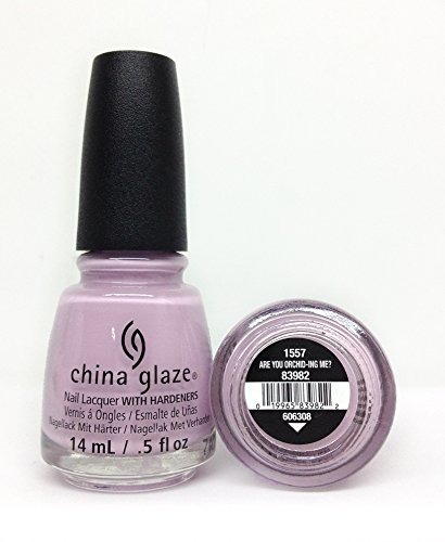 China Glaze Are You Orchid-ing Me? Nail Lacquer (China Orchid)
