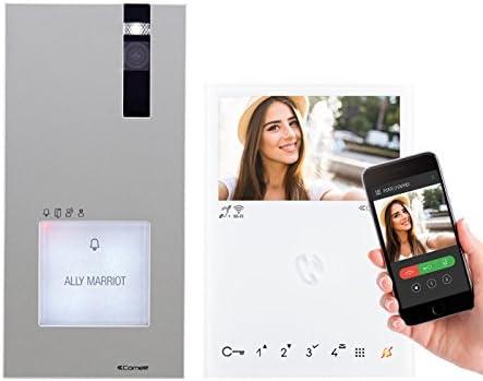 COMELIT Kit Quadra de videoportero Mini Manos Libres con WiFi ...