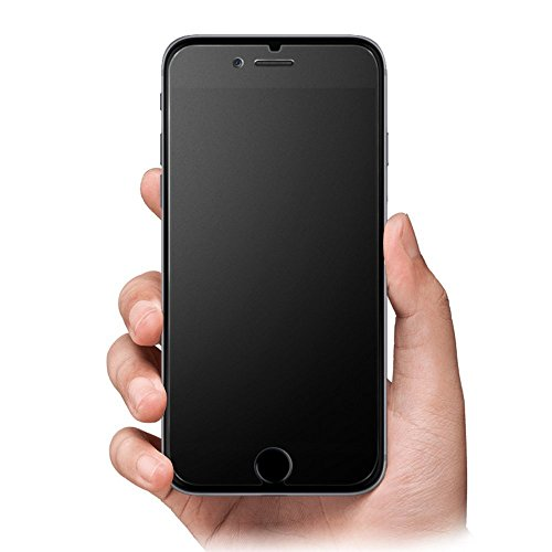 iPhone 7 Plus Screen Protector Matte Anti-Glare & Anti-Fingerprint 9H HD Clear Tempered Glass Film Smooth as Silk (iPhone 7 Plus)