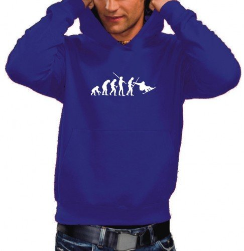 Coole-Fun-T-Shirts Sweatshirt SNOWBOARD Evolution Hoodie - Sweat ... 974804b1c0b1