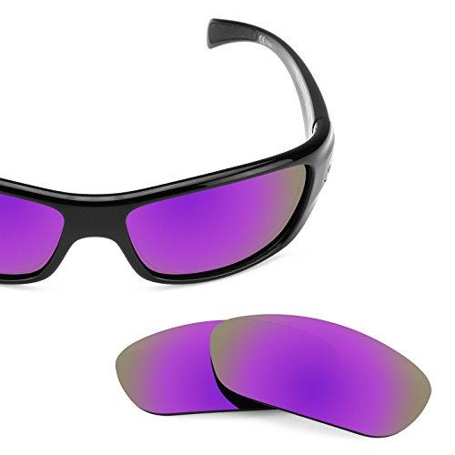Verres de rechange pour Bolle Copperhead — Plusieurs options violet MirrorShield® - Polarisés
