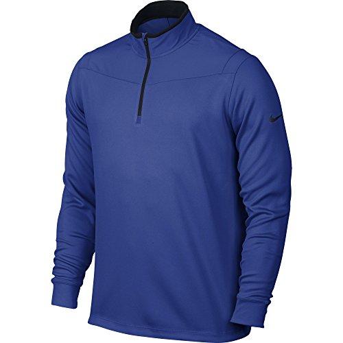 - Nike Golf Dri-Fit 1/2 Zip Longsleeve - Game Royal/Black (Small)