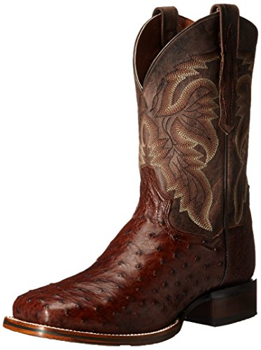 Dan Post Men's Alamosa Western Boot, Chocolate, 11.5 D US